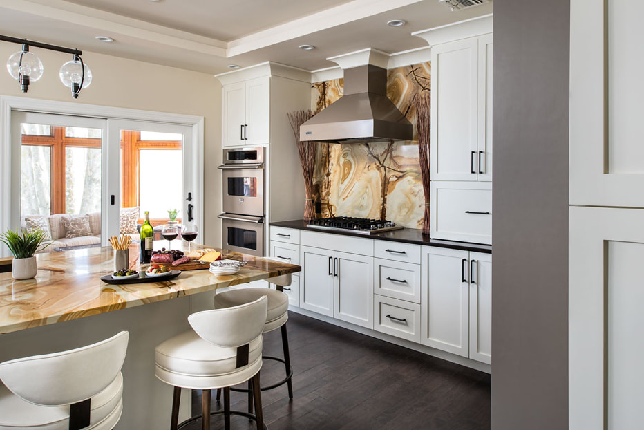 Beautiful kitchen design by Amazing Spaces in Westchester County