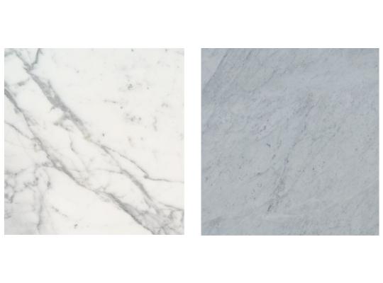 Calacatta Marble Countertops vs  Carrara Marble Countertops