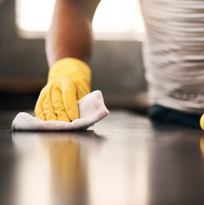 How to disinfect countertops