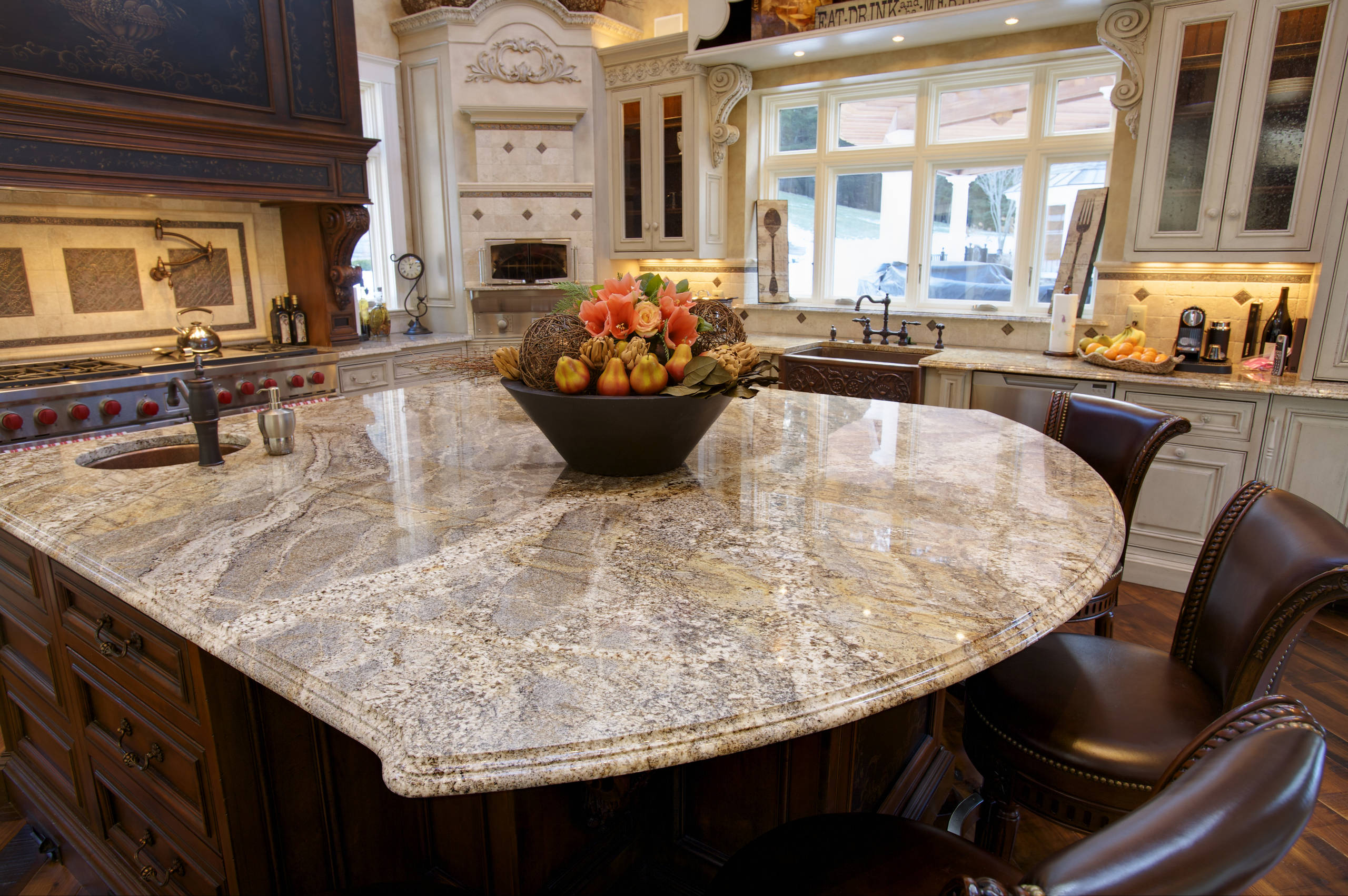 Dupont quartz countertop edge