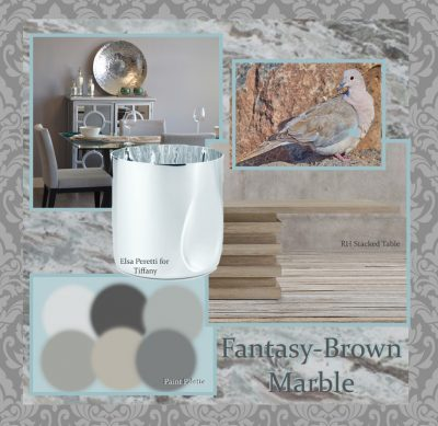 Fantasy Brown Marble with Restoration Hardware New Collection