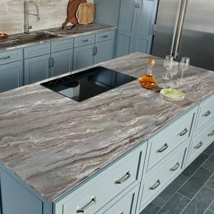 Fantasy Brown Marble vs. Fantasy Brown Quartzite