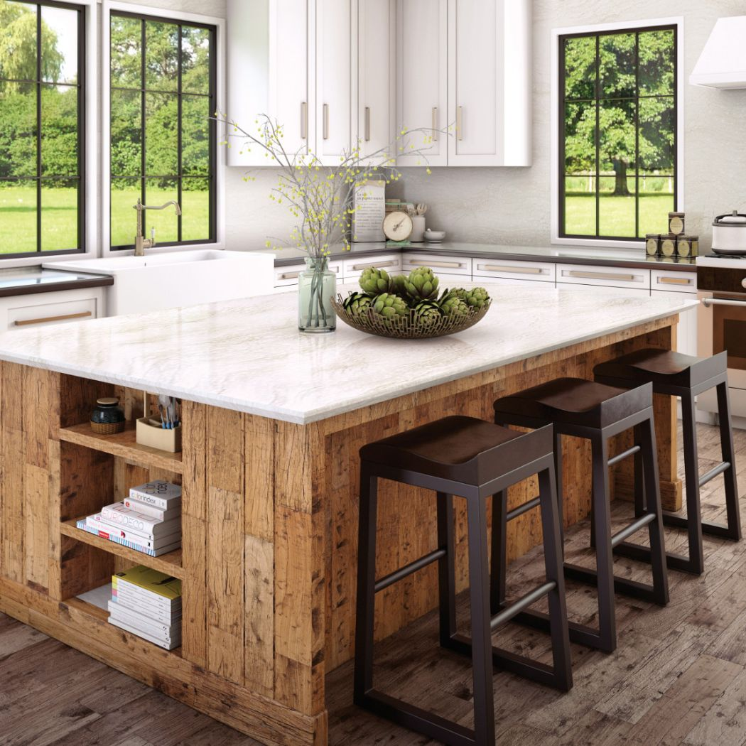 Cambria Quartz Countertop Option #5: Ironsbridge