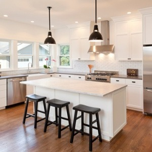 Multi-Level Kitchen Islands