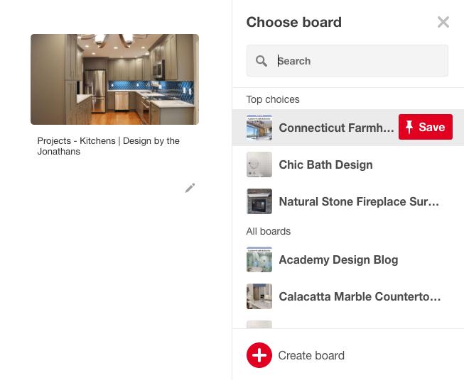 Pinterest board ideas