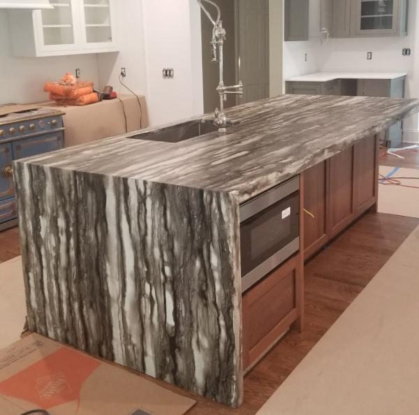 Sequia Leather Granite countertops