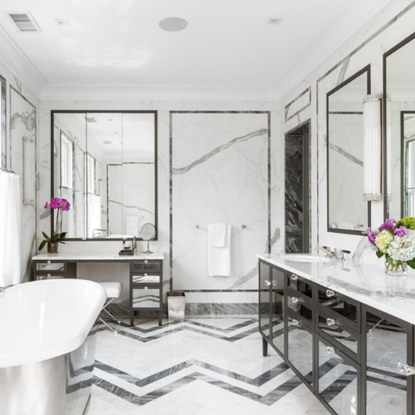 Statuario Marble, Scarsdale NY