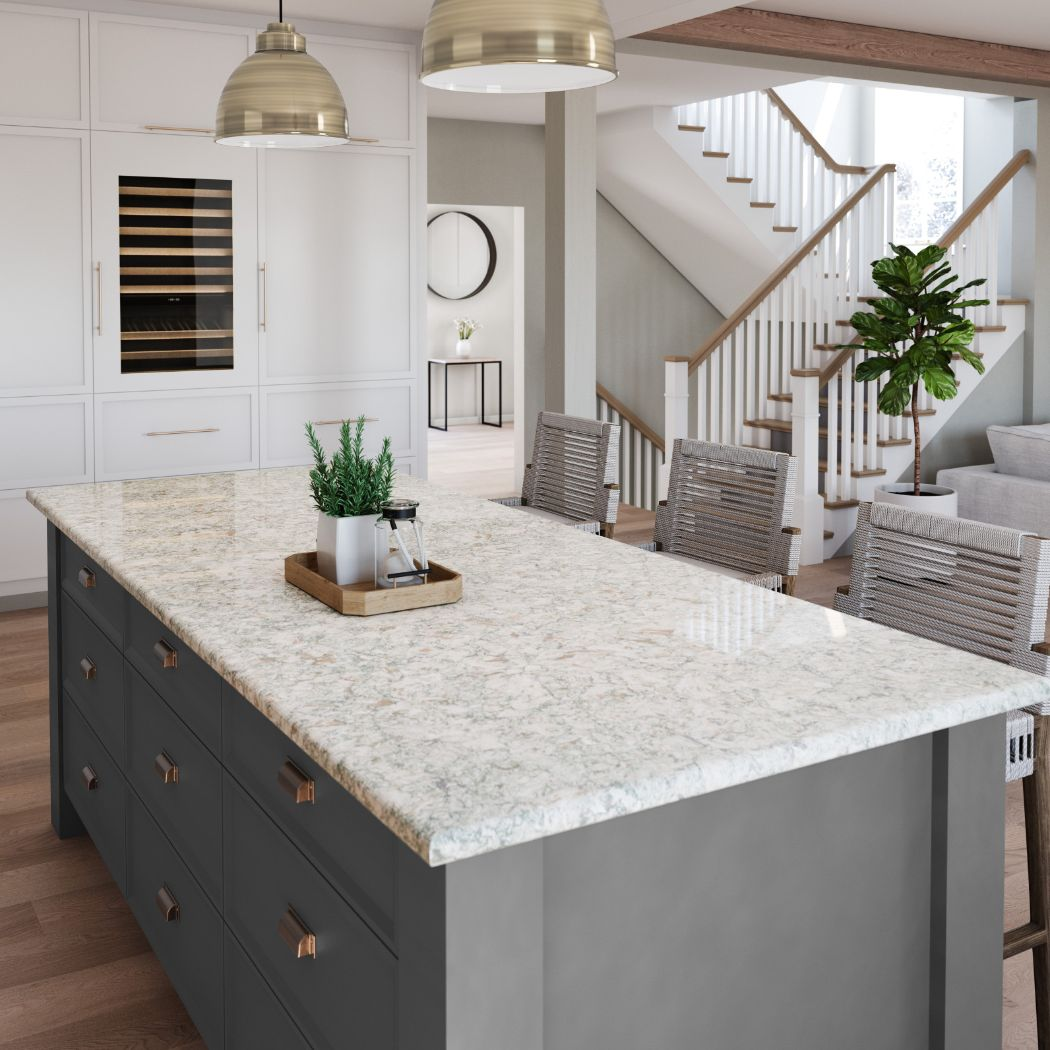 Cambria Quartz Countertop Option #3: Trafalgar