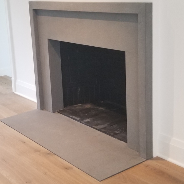 Travertine Fireplace - Academy Marble