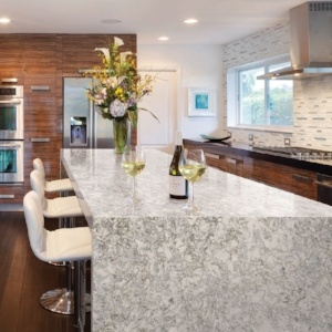 Waterfall countertops