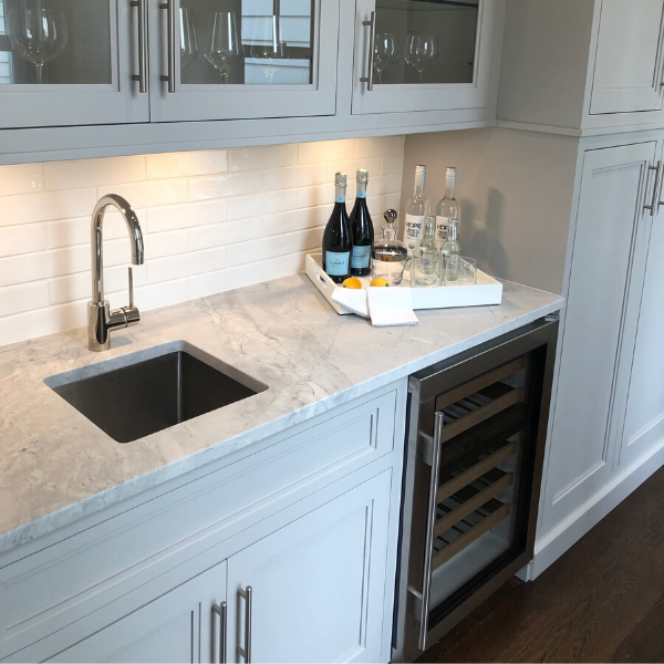 White Vermont Quartzite - Greenwich, CT