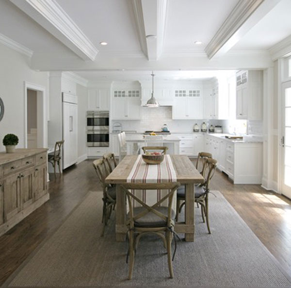 Carrera Marble Kitchen Countertop - Greenwich CT