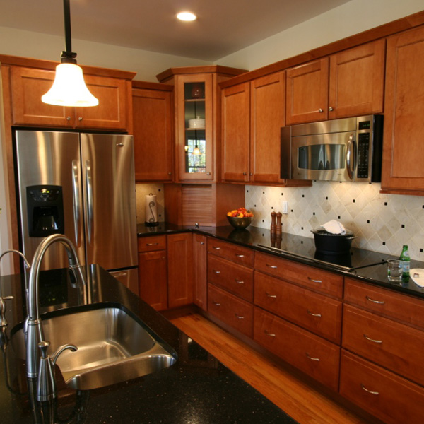 Black Galaxy Granite Kitchen Countertops, NY