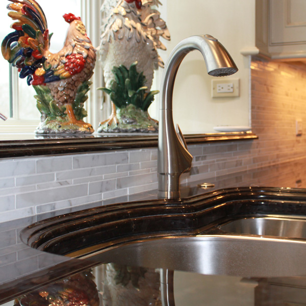 Brown Antique Granite Countertops: Bedford, NY - Academy Marble
