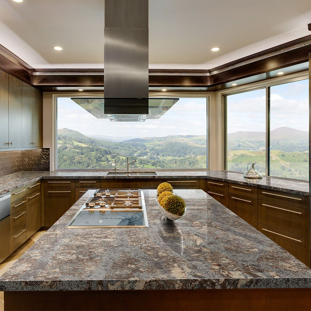 Cambria Quartz Countertop Option #1: Helmsley