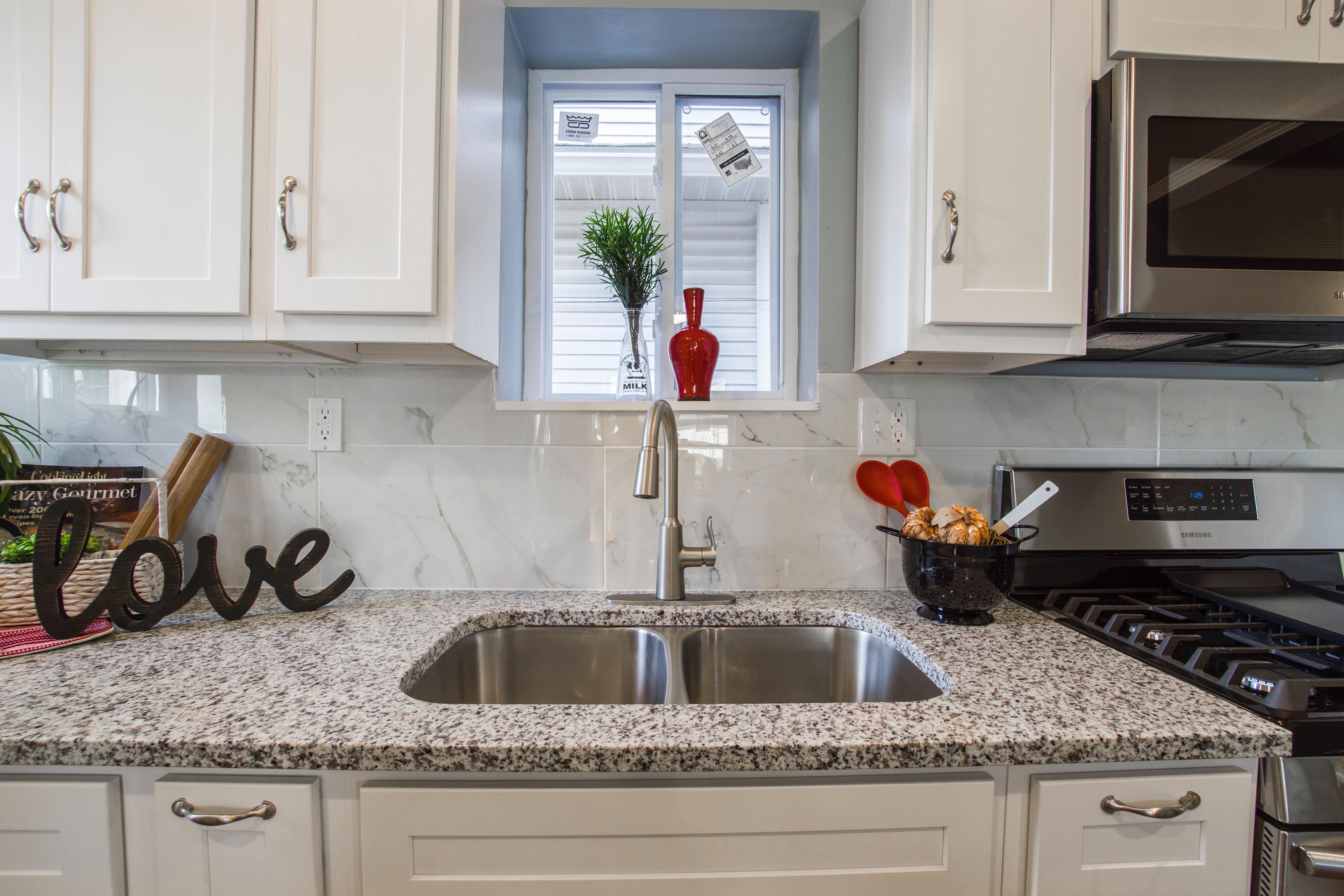 installing precut granite or custom granite