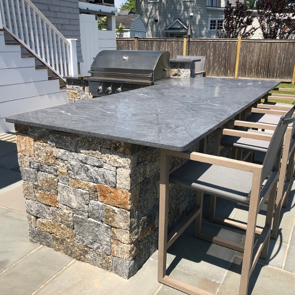 Jet Must Outdoor Kitchen, Fairfield CT