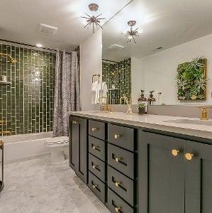 popular granite countertops for the bath