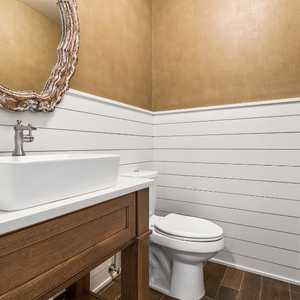 5 Powder Room Countertop Ideas for a Small Space