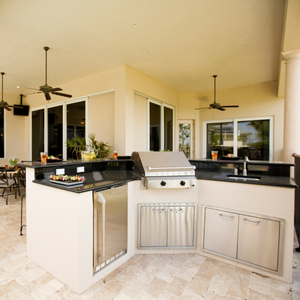 steps to building an outdoor kitchen