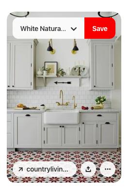 Using Pinterest for kitchen design trends